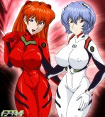 Evangelion — [Palcomix] — Asuka And Friends — Alternative