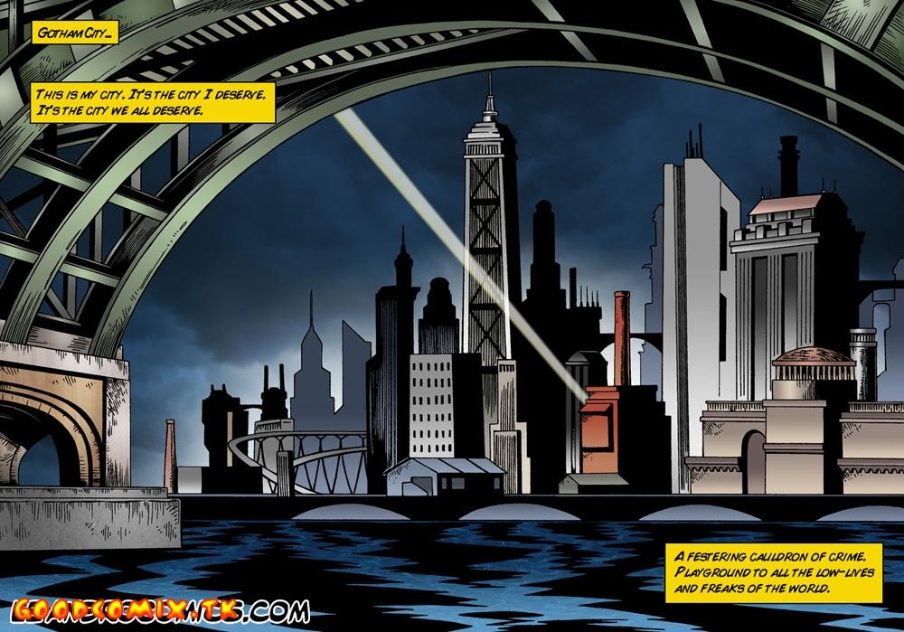 Goodcomix Batman - [Leandro Comics] - Batman and Catwoman On Guard