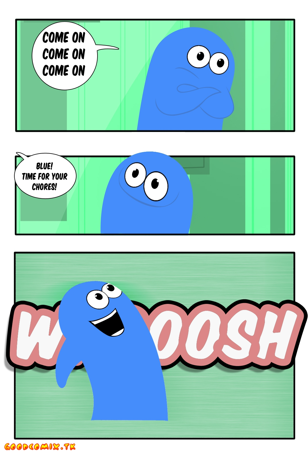 Goodcomix Foster's Home For Imaginary Friends - Blue Time