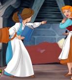 Crossover — [CartoonValley][NEW] — Cinderella Vs. Belle
