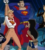 Justice League — [ToonBDSM][acme] — HeroParty
