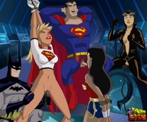Goodcomix Justice League - [ToonBDSM][acme] - HeroParty