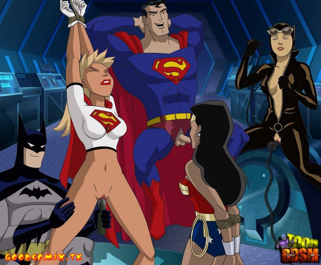 Goodcomix Justice League - [ToonBDSM][acme] - HeroParty