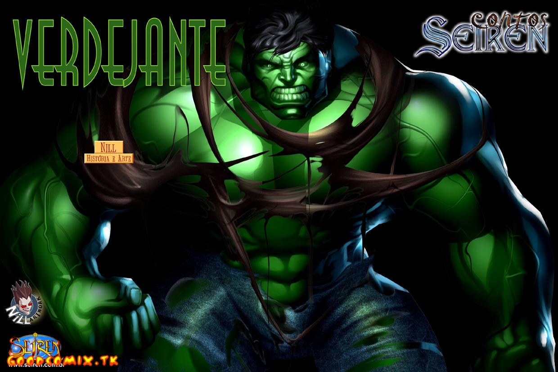 Goodcomix The Incredible Hulk - [Seiren] - Verdejante