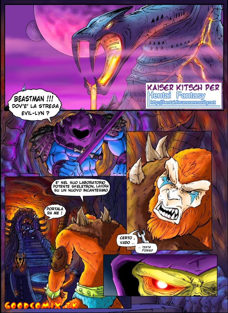 Goodcomix He-Man And The Masters Of The Universe - Unknown Adventure He-Man