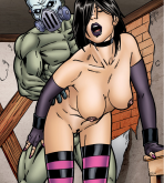 Hack-Slash — [Leandro Comics] — Cassandra Hack Vs Vlad