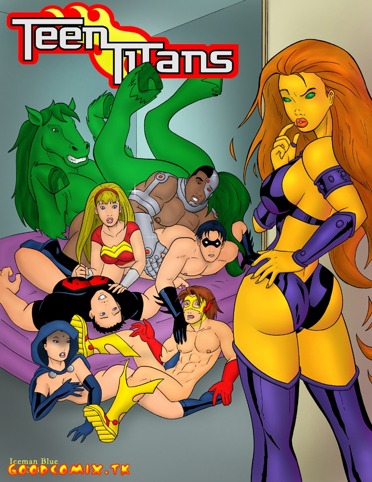Goodcomix The Teen Titans - [Iceman Blue] - Contraception Education