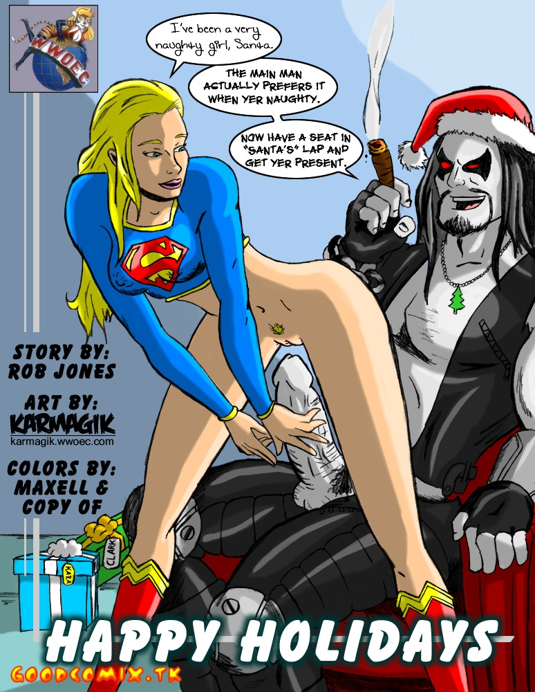 Goodcomix.tk Superman - [Karmagik] - Happy Holidays
