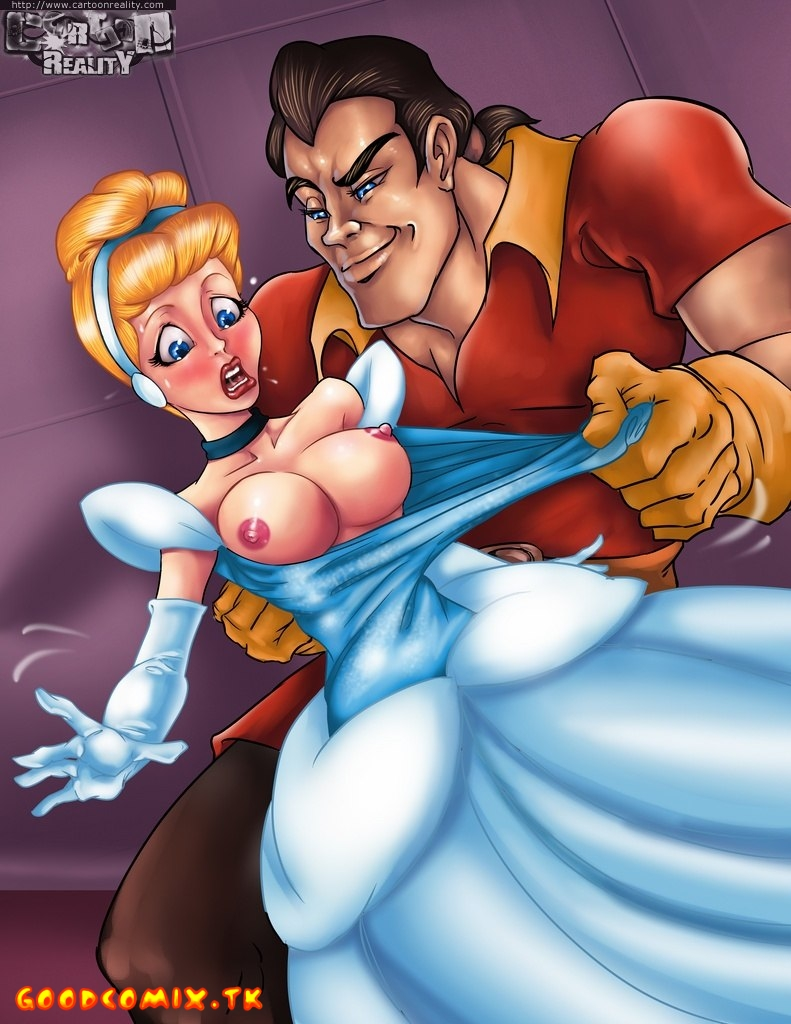 Goodcomix Cinderella - [Cartoon Reality] - Hard Sex With Cinderella