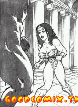 Goodcomix.tk Wonder Woman - Here She Comes! Sexy Wonder Woman Vs. Minotaur