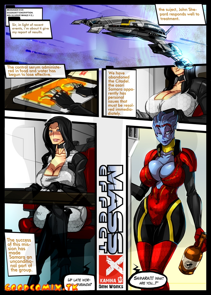 Goodcomix.tk Mass Effect - [ArtofKamina] - Minute Of Rest For Miranda