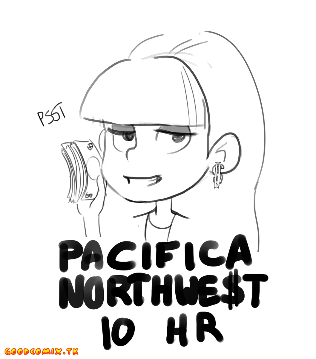 Goodcomix Gravity Falls - [Polyle] - Pacifica Northwe$t 10 HR