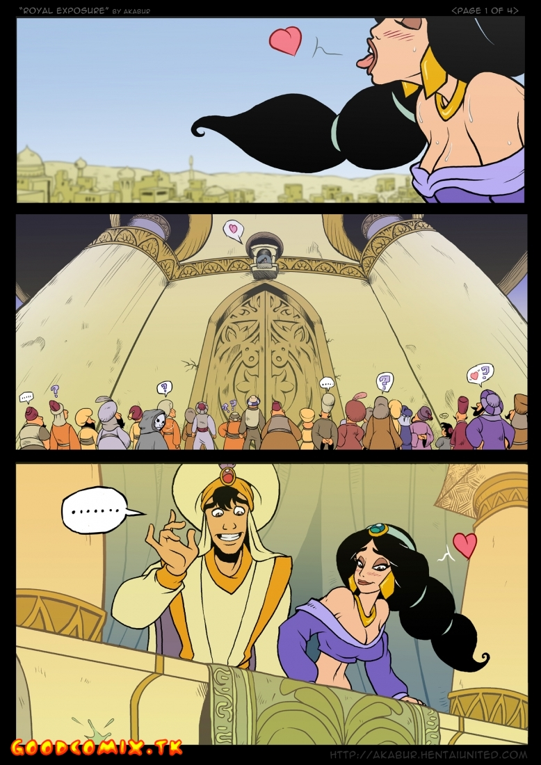 Goodcomix.tk Aladdin - [Akabur] - Royal Exposure