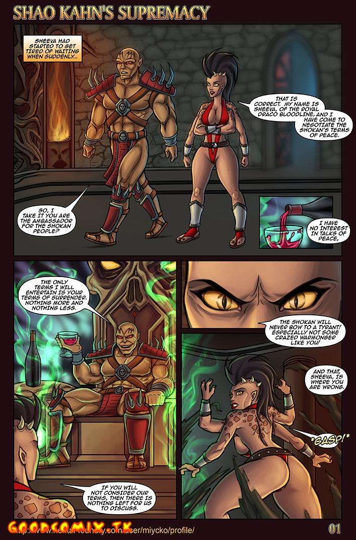 Goodcomix.tk Mortal Kombat - [Miycko] - Shao Kahn's Supremacy