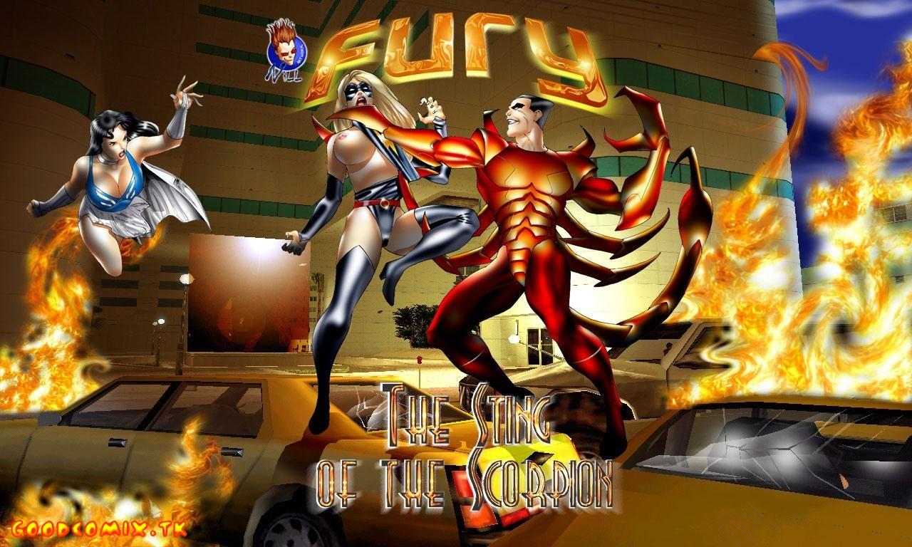 Goodcomix Marvel Universe - [Seiren] - Fury - The Sting of the Scorpion