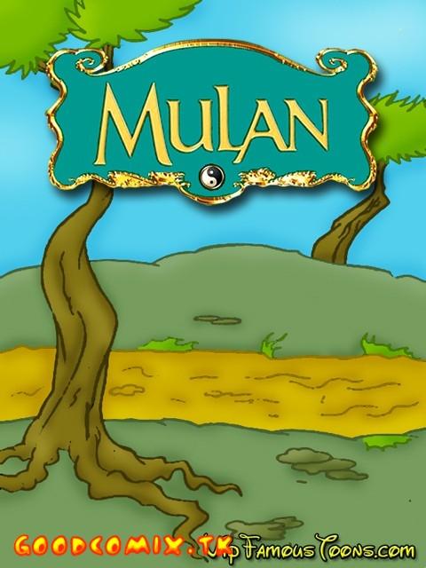 Goodcomix Mulan - [VIP Famous Toons] - Wanderer Hard Fucked Mulan