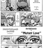 Teenage Mutant Ninja Turtles - [bigbangbloom] - April & Donni in Mutant Love