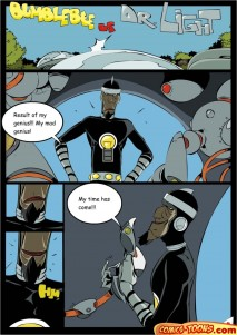 Goodcomix The Teen Titans - [Comics-Toons][Okunev] - Bumblebee Vs Dr. Light