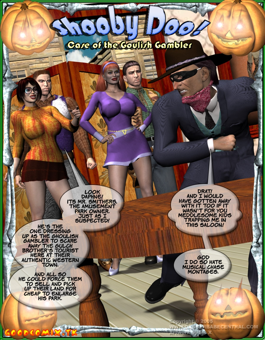 Goodcomix.tk Scooby Doo - [dangerbabecentral] - Case of the Goulish Gambler