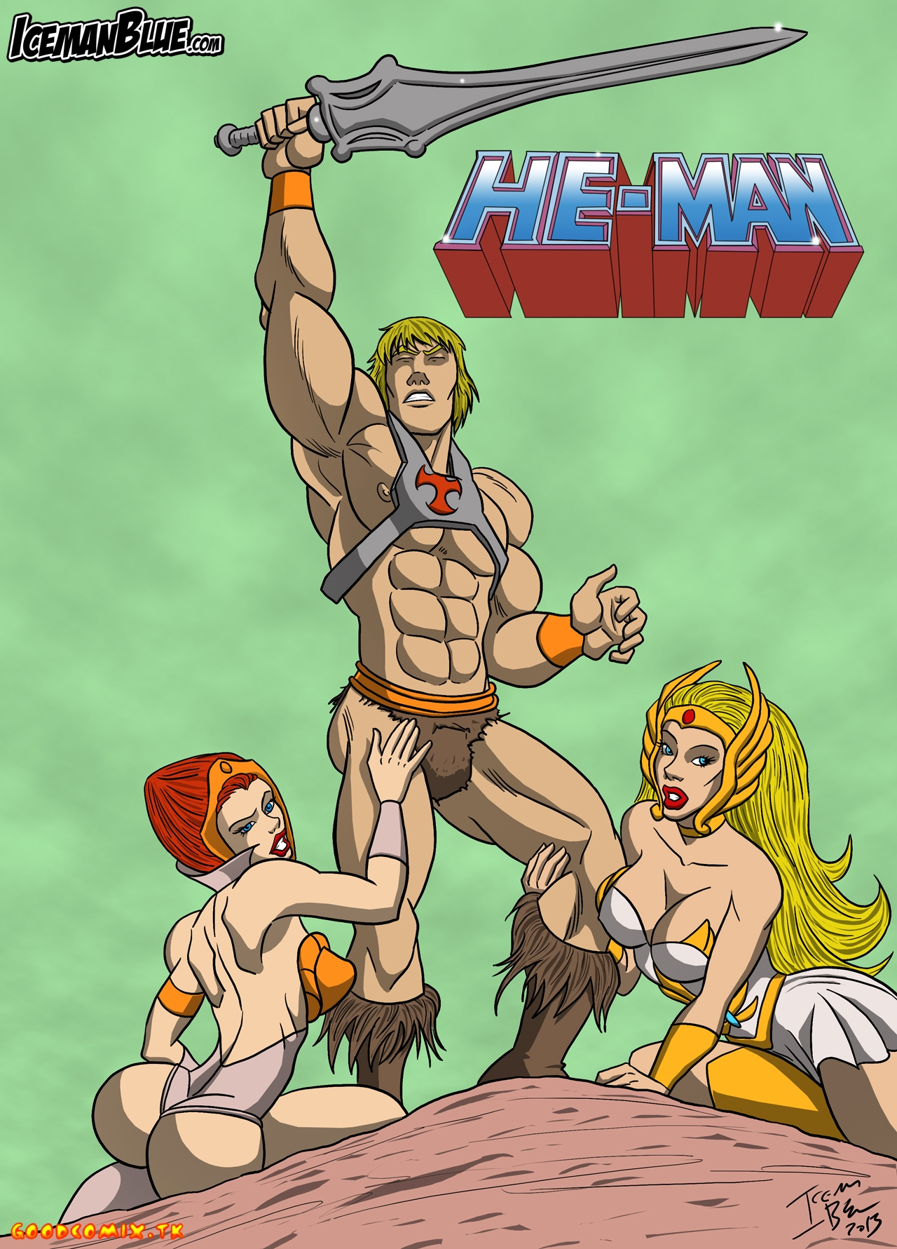 Goodcomix.tk He-Man And The Masters Of The Universe - [Iceman Blue] - Lord Of Asses