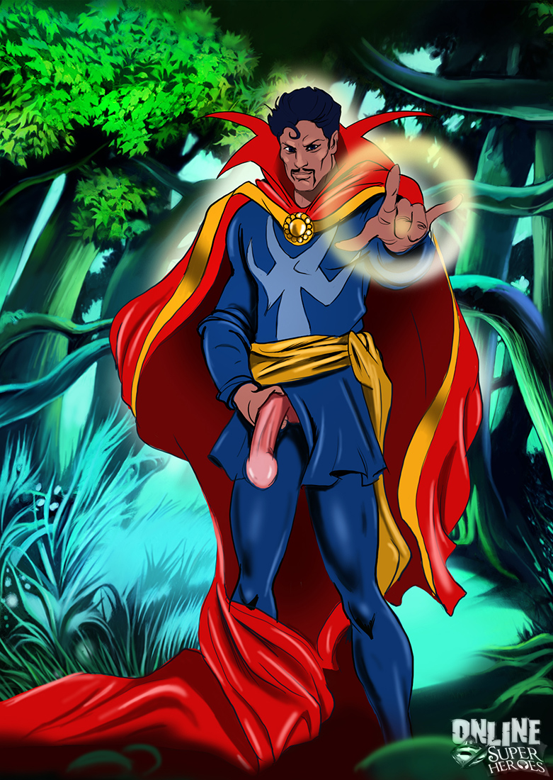 Goodcomix Crossover Heroes - [Online SuperHeroes] - Invisible Woman Gets Kinky With Dr. Strange