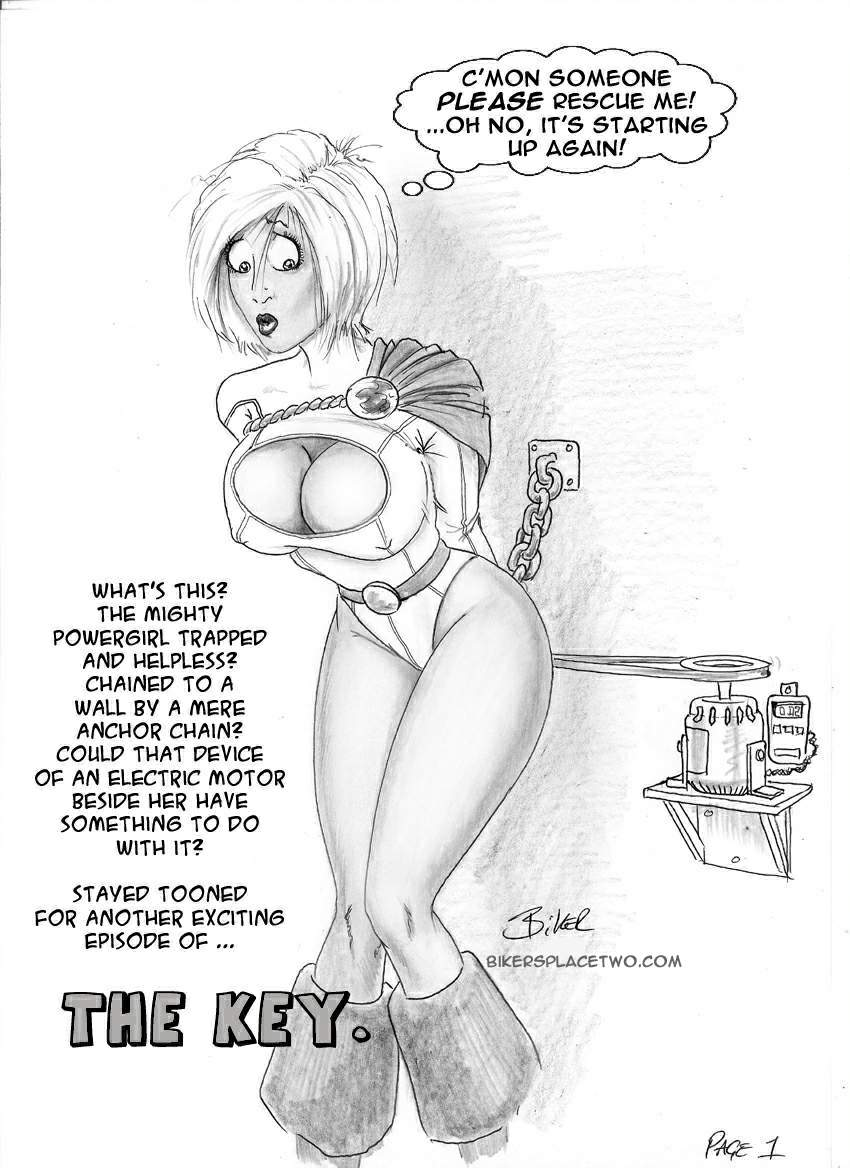 Goodcomix DC Comics - [Biker Bloke] - The Key
