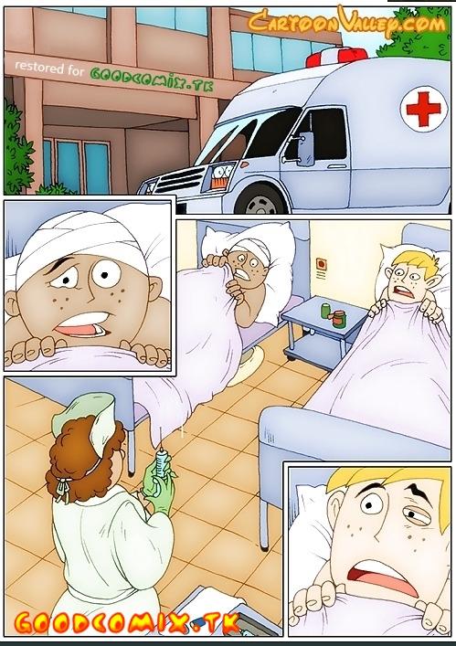 Goodcomix Kim Possible - [CartoonValley][Comic] - Kim Possible and Shego Hospital Sex