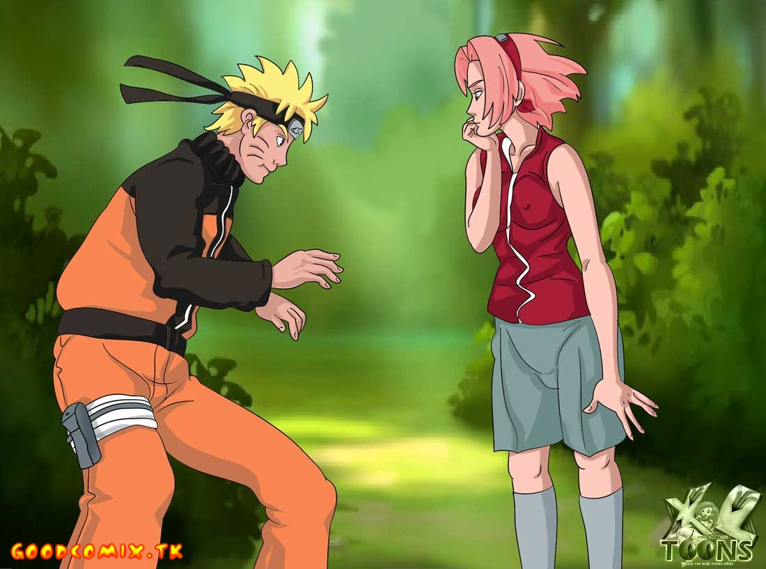 Goodcomix Naruto - [XL-Toons] - Naruto Ruthlessly Fucks Sakura