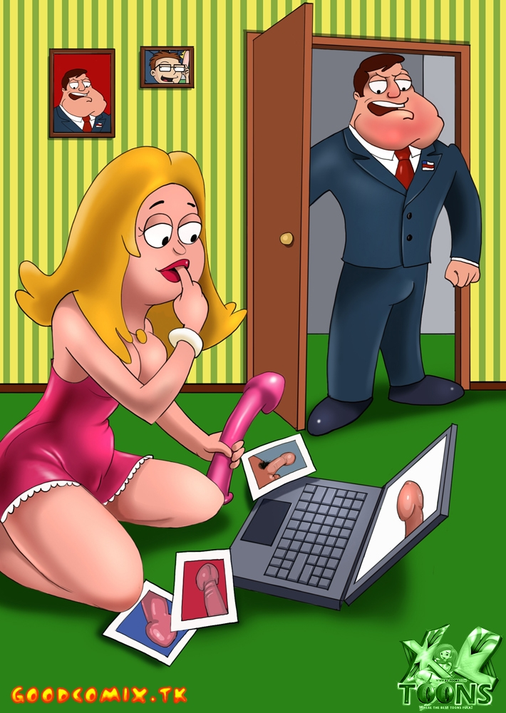 Goodcomix American Dad - [XL-Toons] - No More Dildos!