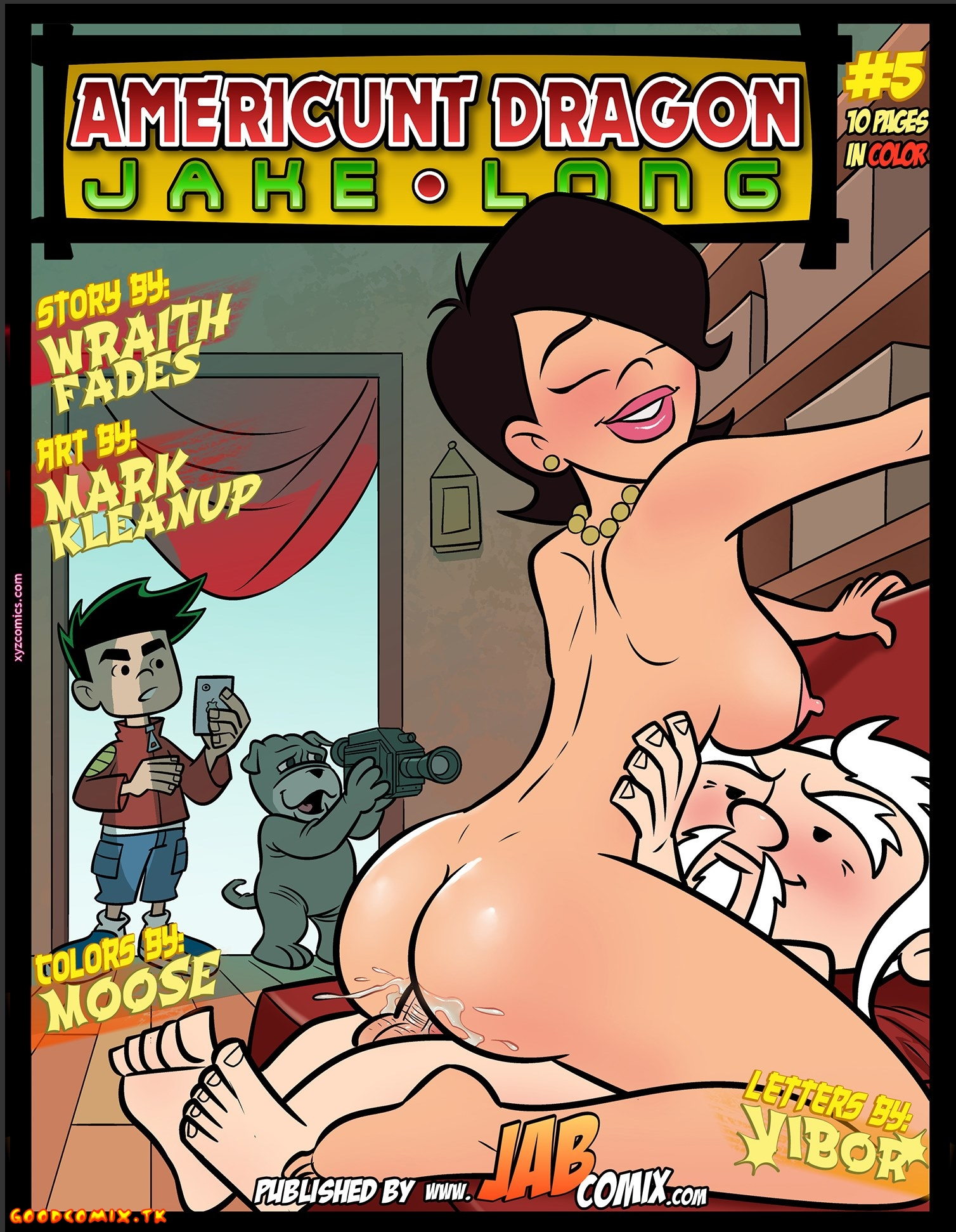 Goodcomix.tk American Dragon Jake Long - [JabComix] - Part.5 - Jake Takes The Cake And Eats It Too!