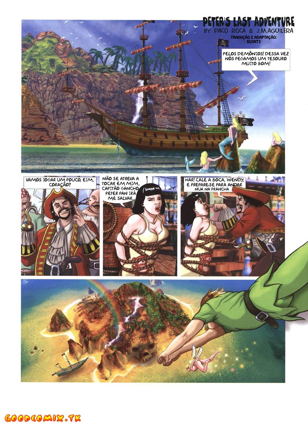 Goodcomix.tk Peter Pan - [Paco Roca, J. Aguilera] - Peter's Last Adventure