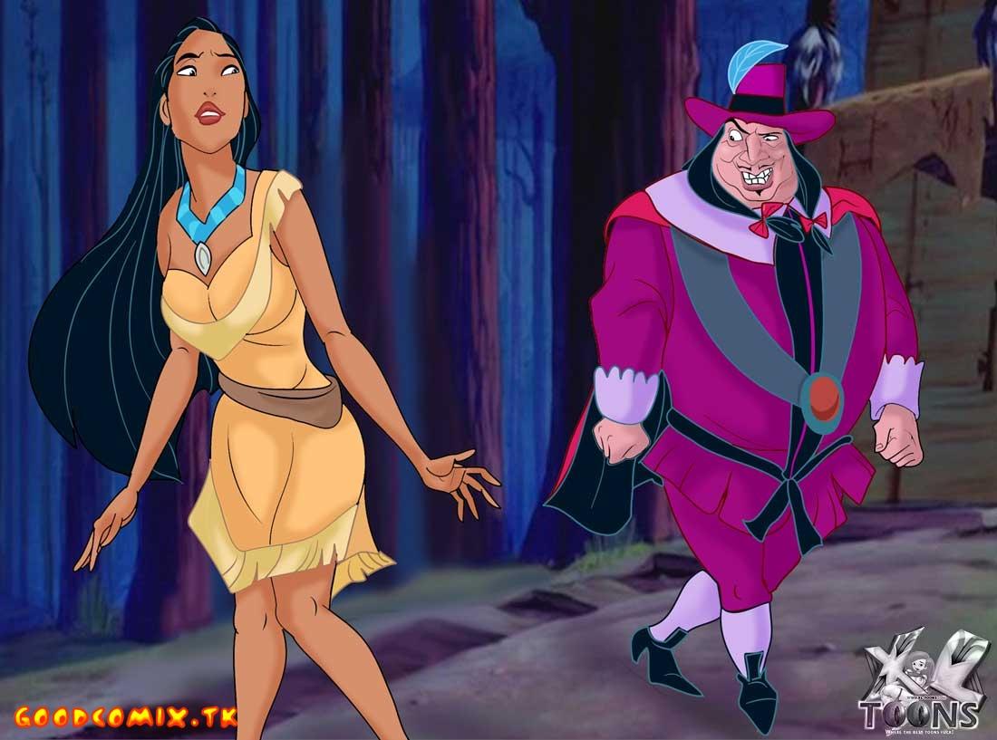 Goodcomix Pocahontas - [XL-Toons] - Pocahontas And The Main Colonist