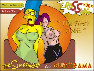 Goodcomix Crossover - [Niicko] - Simpsons & Futurama - The First One