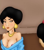 Aladdin - [VIP Famous Toons] - Aladdin and Jasmine Hard SEX (V1 and V2)