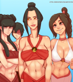 Avatar the Last Airbender — [MrPotatoParty] — Beach Day