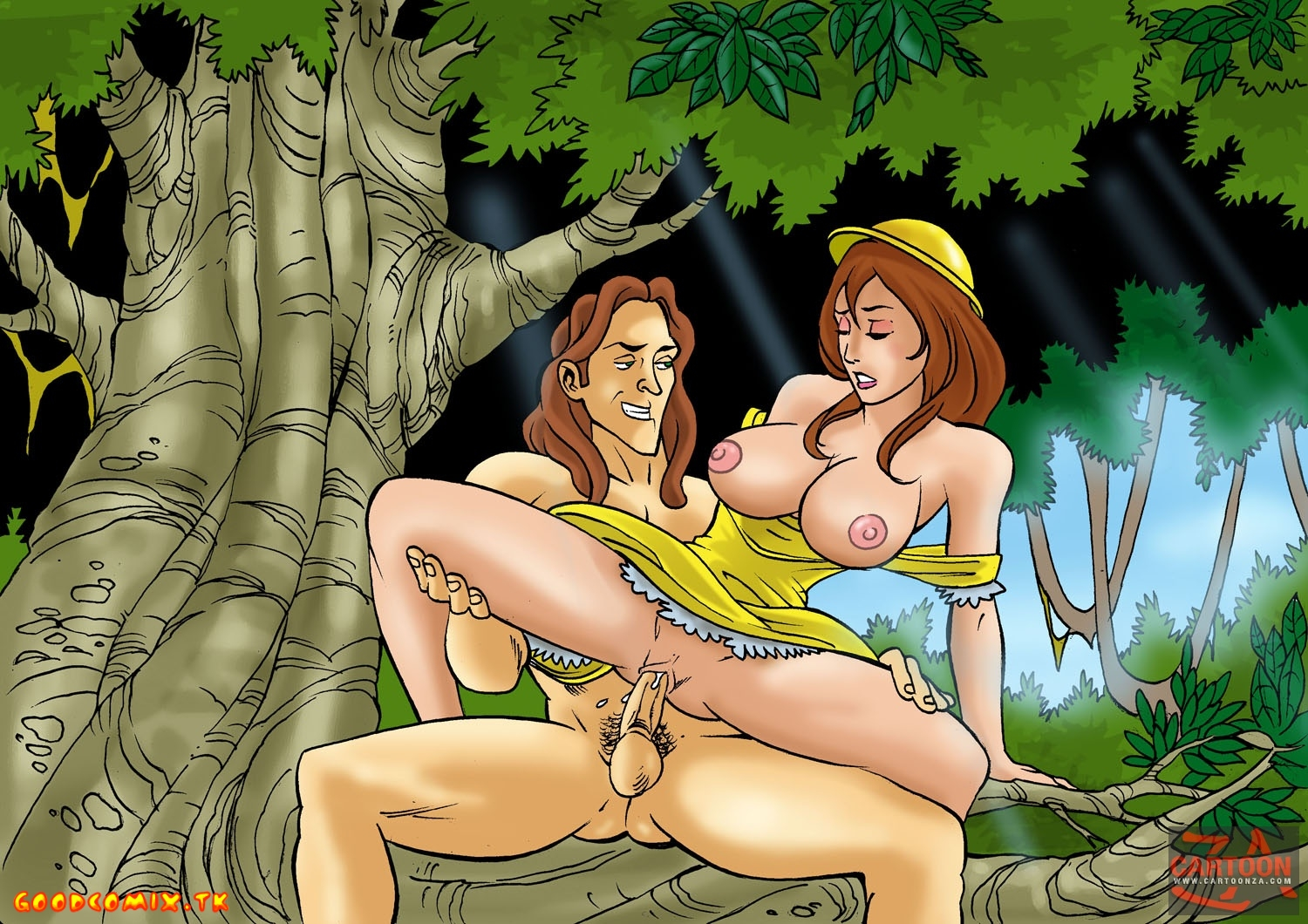 Goodcomix.tk Tarzan - [Cartoonza] - Cunt From The Jungle