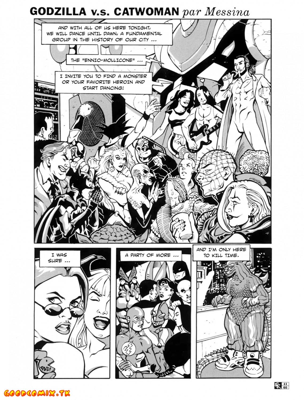 Goodcomix Crossover - [Messina] - Godzilla V.S. Catwoman