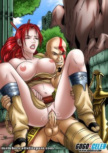 Goodcomix God of War - [GoGoCeleb] - Heavenly Sword & God of War