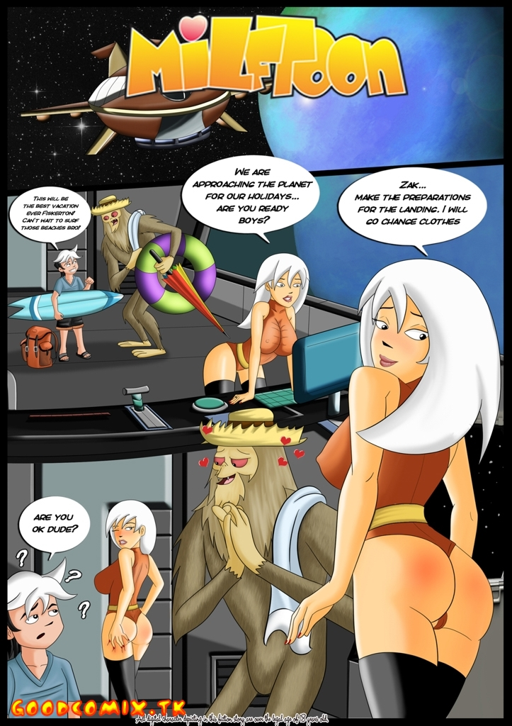 Goodcomix.tk The Secret Saturdays - [Milftoon] - Satudays Party