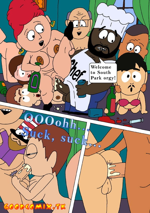 Goodcomix.tk South Park - [Drawn-Sex] - Town Orgy