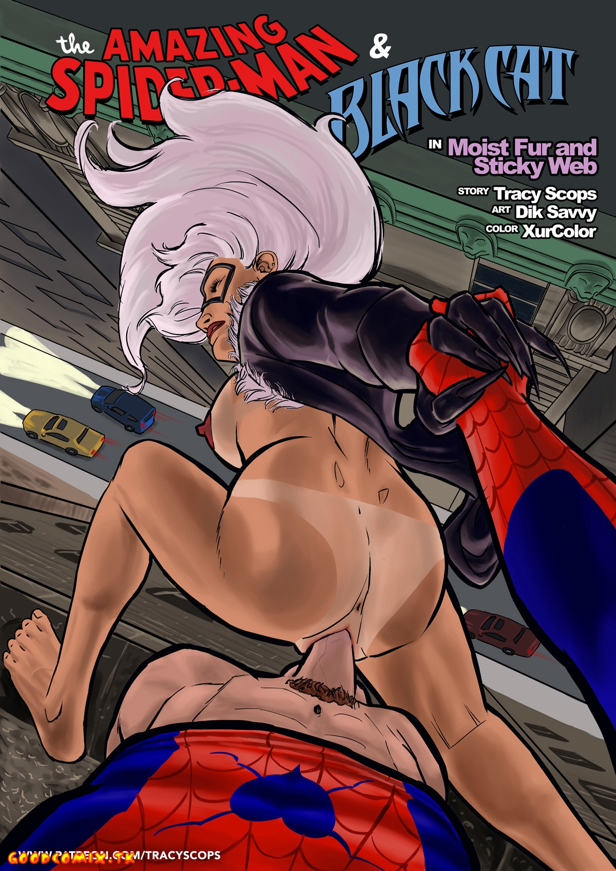 Goodcomix.tk Spider-Man - [Tracy Scops] - Wetfur and Stickyweb