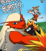 Pokemon - [Rainbow Flyer] - Blaziken Burst!!