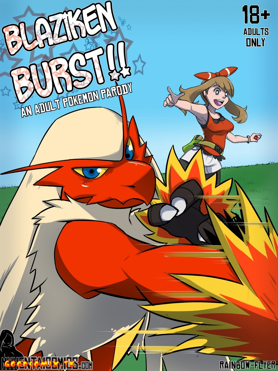 Goodcomix.tk Pokemon - [Rainbow Flyer] - Blaziken Burst!!