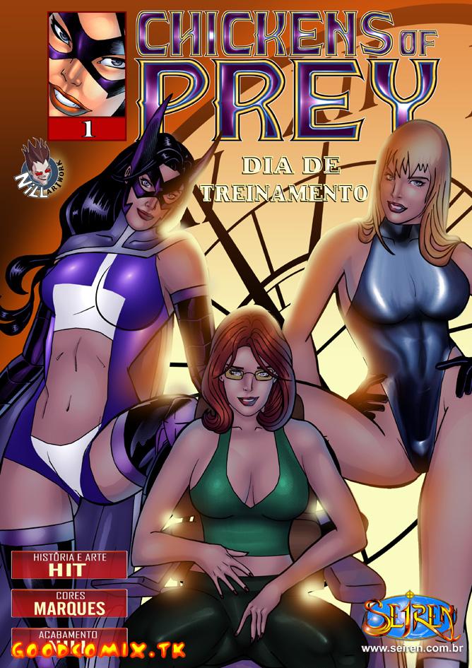 Goodcomix DC Comics - [Seiren] - Chickens Of Prey. Dia De Treinamento