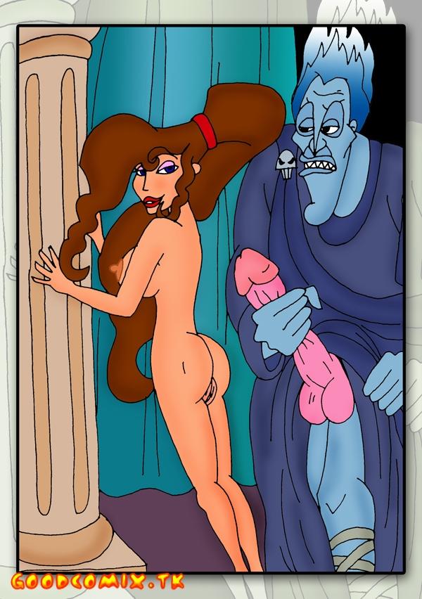 Goodcomix Hercules - [CartoonValley] - Hades And Hercules Feeds Megara