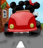 Mickey Mouse — [VIP Famous Toons] — Mickey Mouse — Mickey And Minnie (Two Versions)