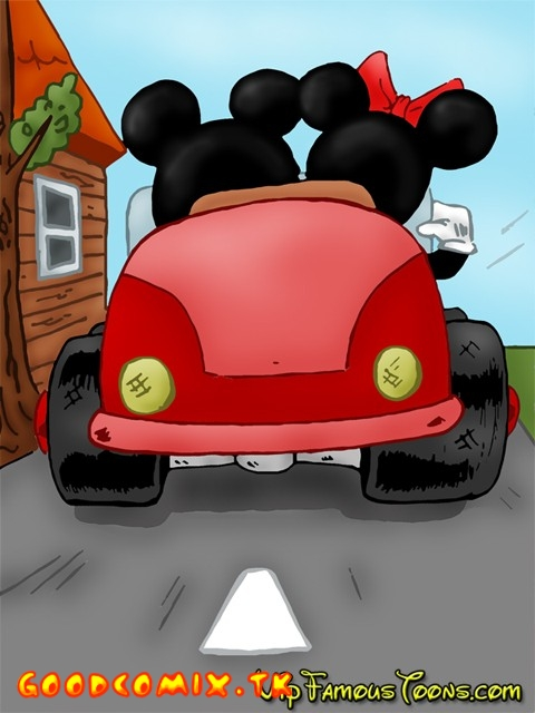 Goodcomix Mickey Mouse - [VIP Famous Toons] - Mickey And Minnie (Two Versions)
