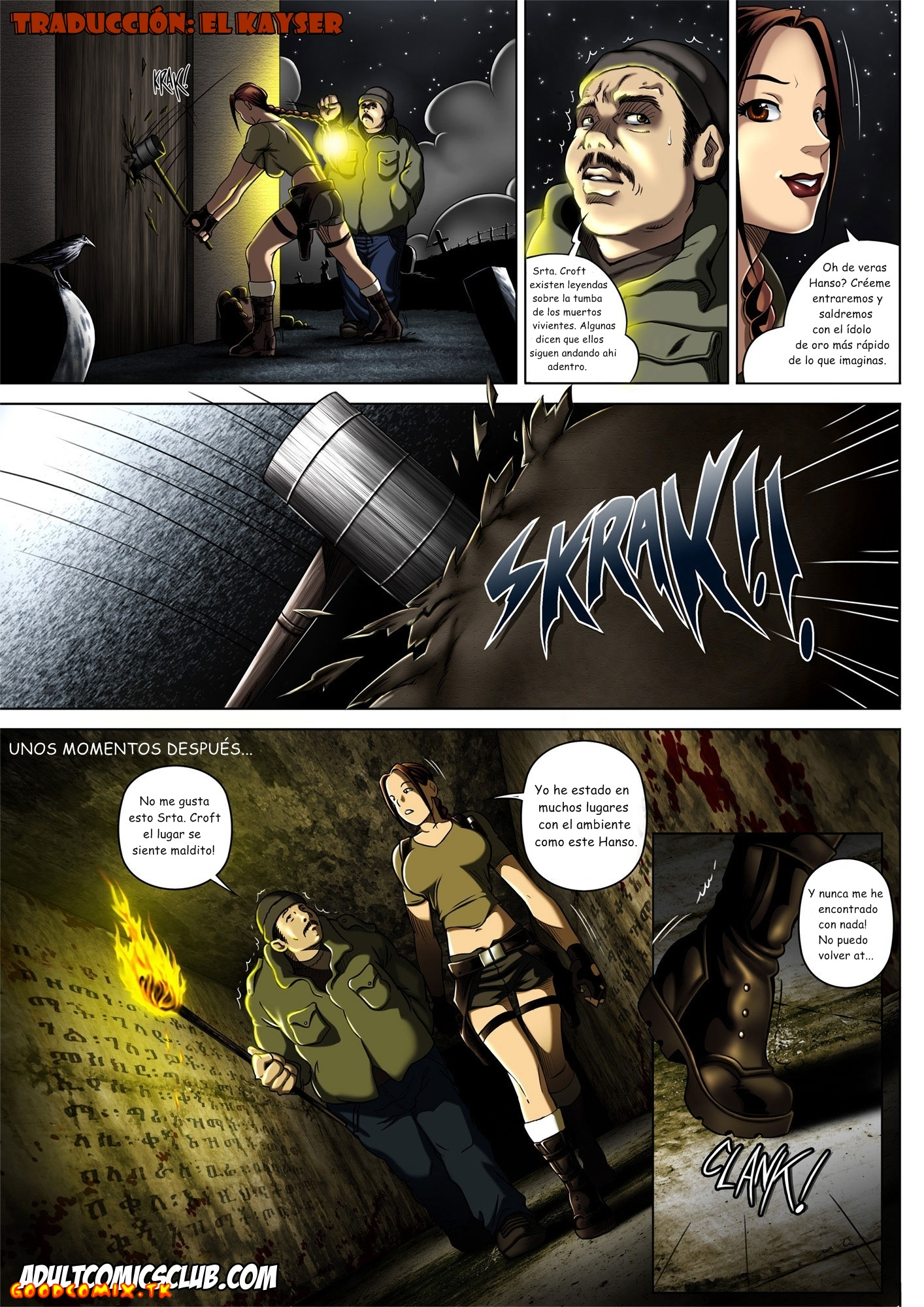 Goodcomix.tk Tomb Raider - [Melkor (Romulo Mancin)] - The Adventures of Sara Hoft - Sara Vs. Zombie