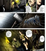 Tomb Raider — [Melkor (Romulo Mancin)] — The Adventures of Sara Hoft — Sara Vs. Zombie