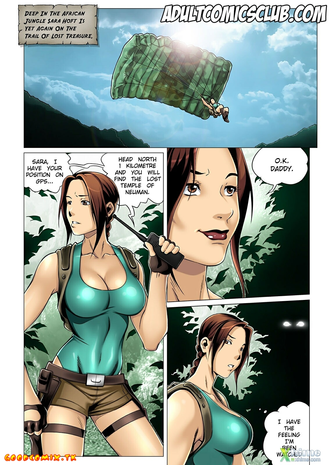 Goodcomix.tk Tomb Raider - [Melkor (Romulo Mancin)] - The Adventures of Sara Hoft - Sara Vs. Jungleman